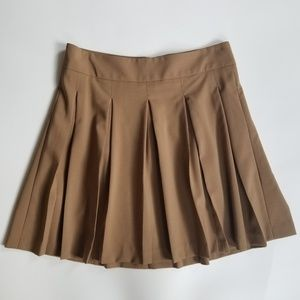 Alice + Olivia Employed Box Pleat Skirt